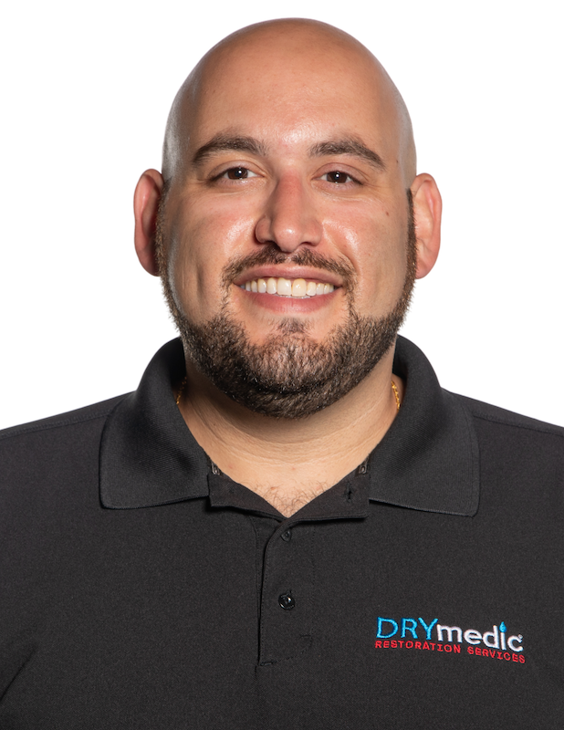 Our Team: Meet the DRYMedic Family - Anthony