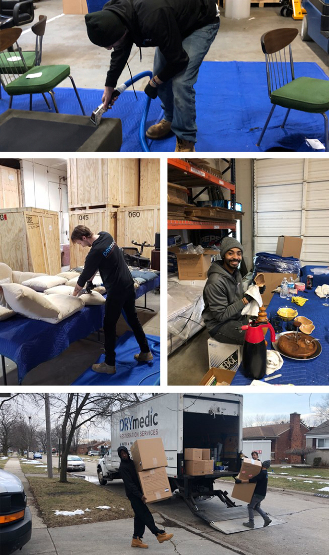 Contents Cleaning and Restoration Michigan | DRYMedic - contents_cleaning_2