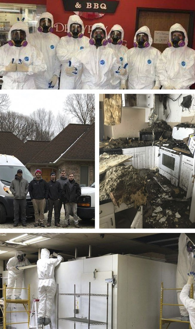Fire & Smoke Damage Restoration Michigan - IICRC Certified | DRYmedic - drymedic_collage-fire